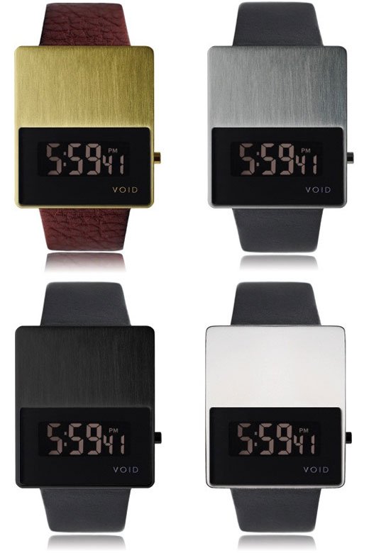 void lcd watches