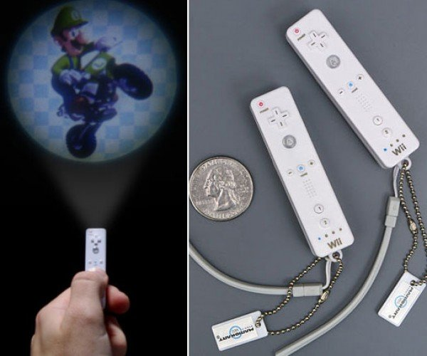 Tiny Wii-Mote Projector Shines Mario Kart on Your Wall