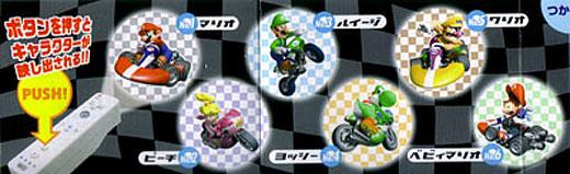 Mario Kart Wii-Mote Mini Projector