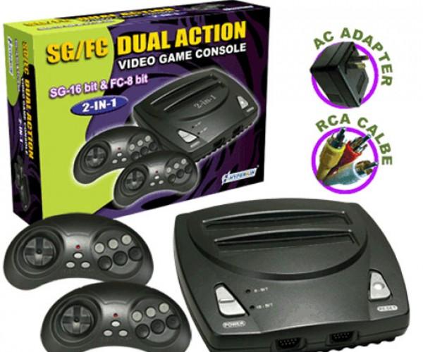 Hyperkin Sg/Fc Plays NES and Sega Genesis Games