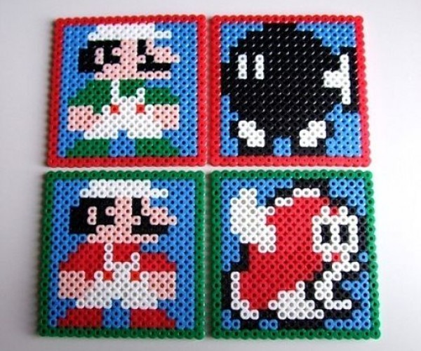 Classic Mario Bros. Coaster Set