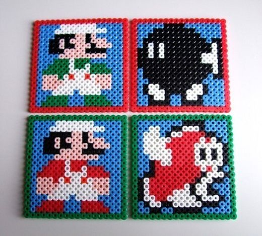 Mario Coasters by Lostmitten