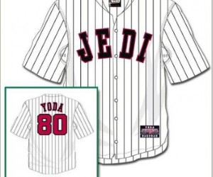 Force Bunt: Star Wars Sports Jerseys