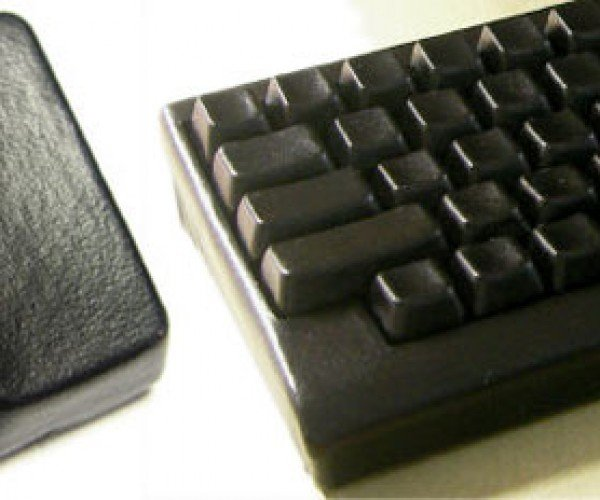 Black Leather Keyboard Perfect for Joan Jett'S Computer