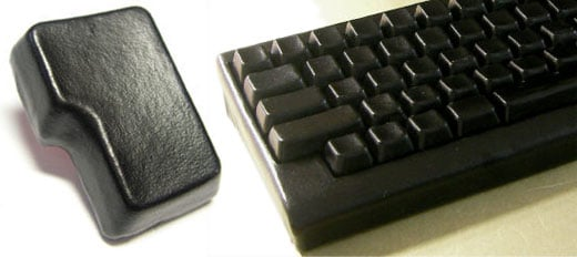 black leather keyboard 2
