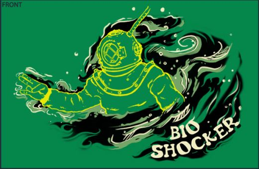 Video Game T-Shirt Bioshocker