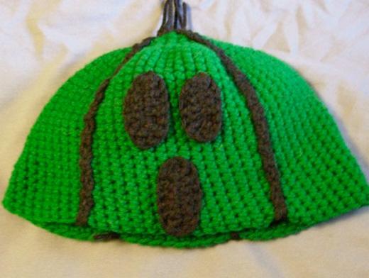 cactaur final fantasy hat crochet etsy