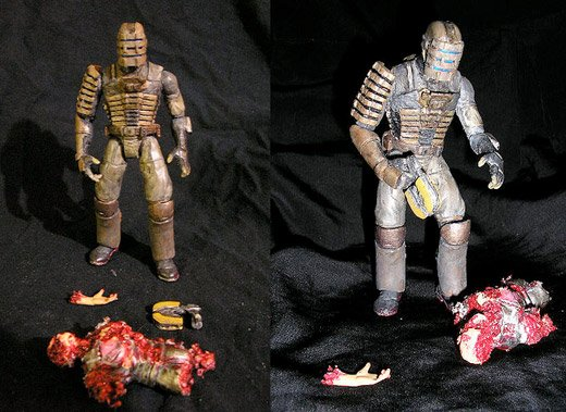 dead space horror action figure necromorph isaac clarke