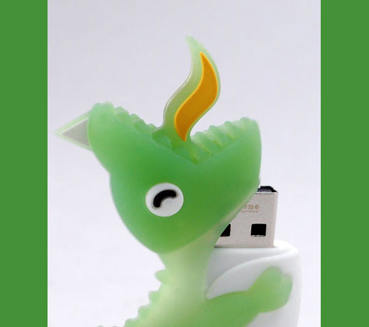 Dinosaur Driver USB Flash Memory