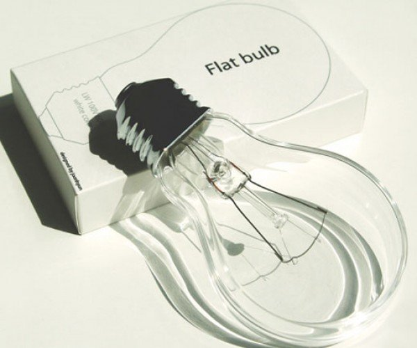 The Light Bulb Gets Flat