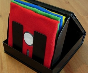 5.25-Inch Floppy Disk Coasters Save Tabletops, Not Data