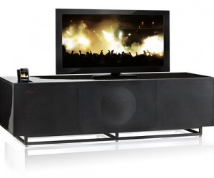 Geneva Labs Home Theater Combines Sound + Furniture