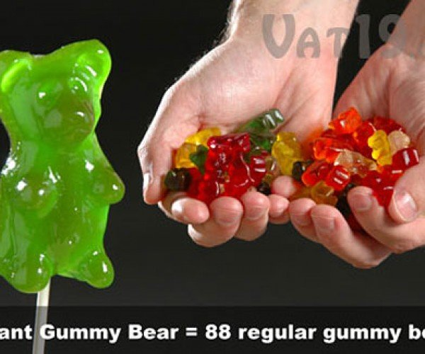 Giant Gummi Bears Attack: Candygram for Mongo