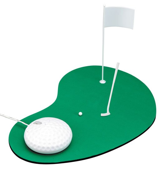 golf mouse and pad