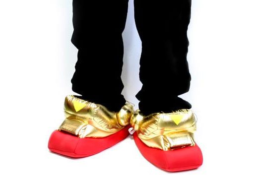gundam mobile suit slippers sound effects