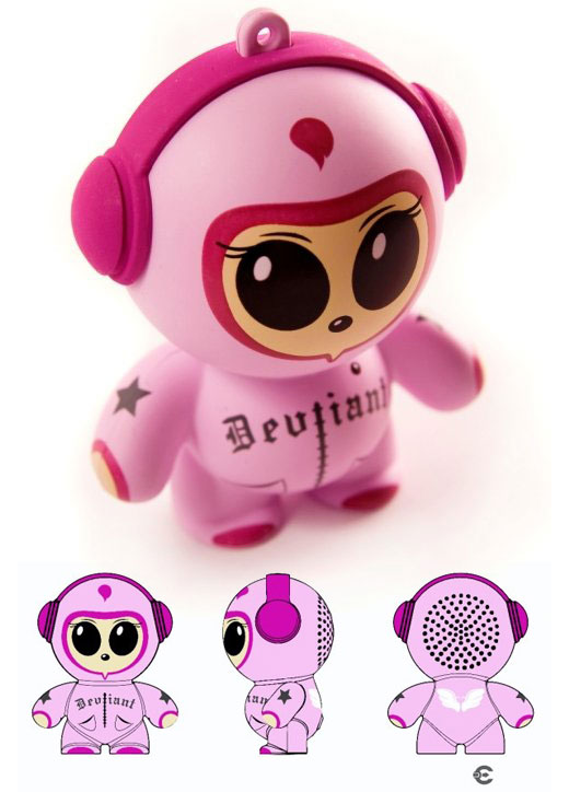headphonies vinyl toy speaker audio sound