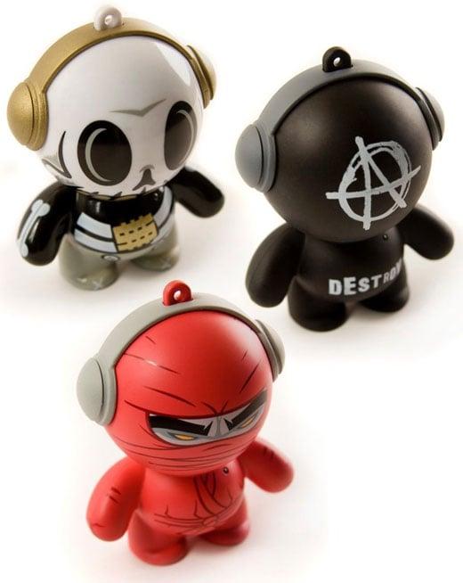 headphonies vinyl toy speaker audio sound