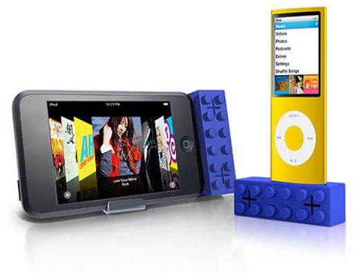 ibrick1 lego ipod speakers