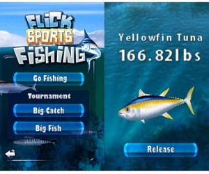 Flick Fishing 1.2 – iPhone Game Gets Update
