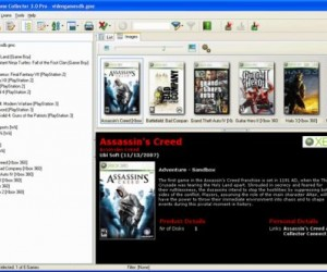 For L33t P33ps Only: Video Game Collector Software
