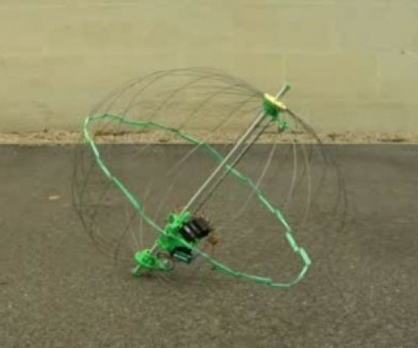 Jumping and Rolling Robot Can Handle Any Terrain