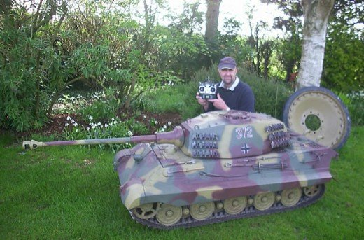 giant r/c tank remote control huge