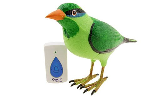 lark bird doorbell