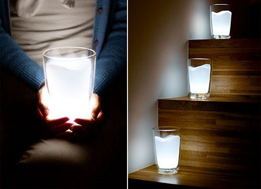 led milk glasses 2