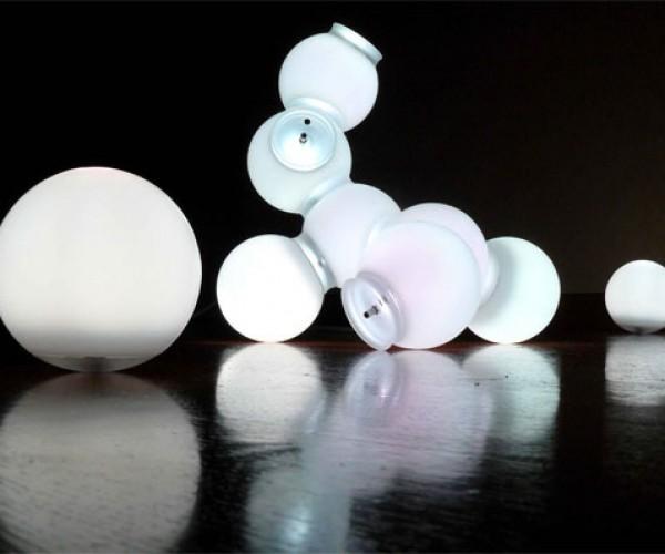 Nomad Light Molecules: Smash Some Atoms Together