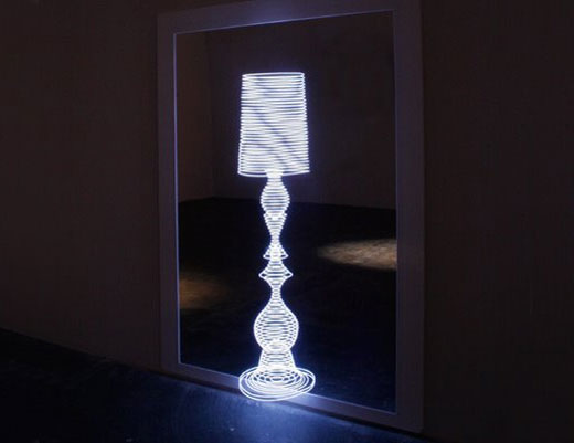 Electroluminescent Lamp by Marcus Tremonto