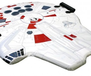 Millennium Falcon Sled Takes You Into Hyperspace