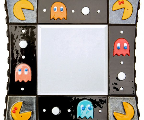 Pac-Man Mirror Shines With Retro Class