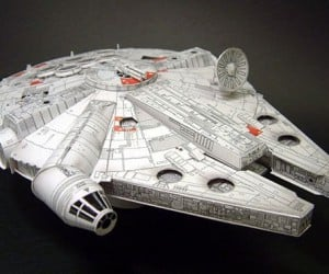 Papercraft Millennium Falcon Might Ignite at Lightspeed