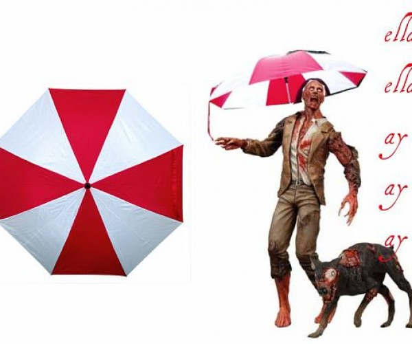 Umbrella Corporation Umbrella Keeps Rain Off Your Zombie Head