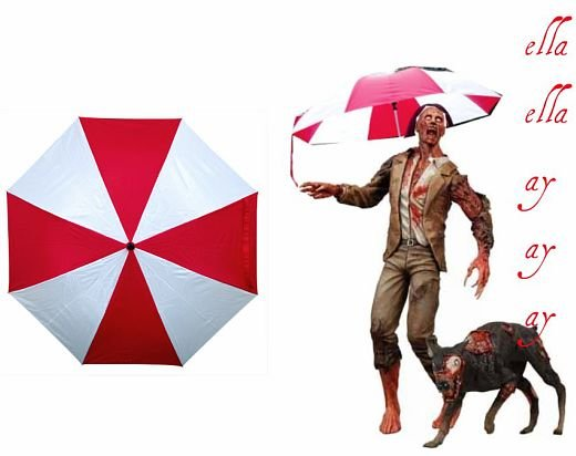 umbrella corporation umbrella rain resident evil