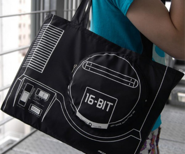 Sega Mega Drive Tote Bag Carries All Your 16-Bit Goodies
