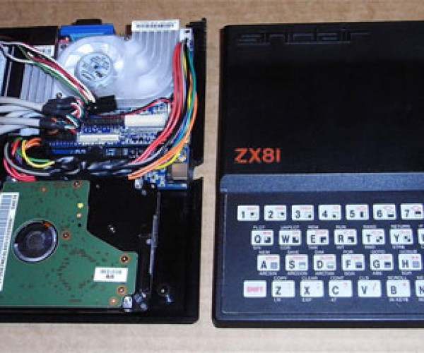Sinclair Zx81 Turned Into Pc [Retro Casemod]
