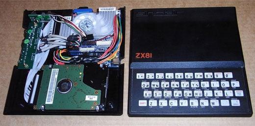 Sinclair ZX81 PC Casemod EPIA Pico ITX