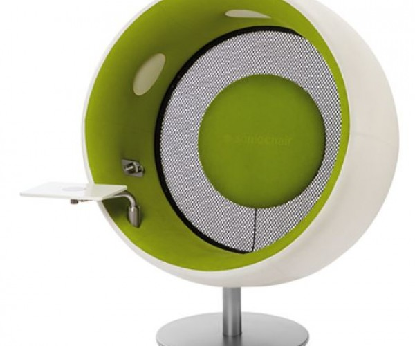 Touchscreen iMac Comes With a (Sonic) Chair