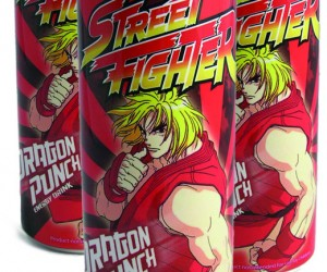 Street Fighter Dragon Punch Energy Drink Packs a Wallop