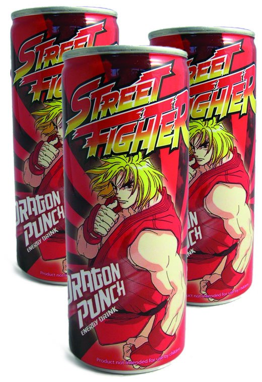 street fighter energy drink