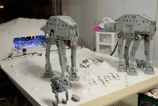 Hoth In Lego Now With Tauntauns Empire Strikes Back