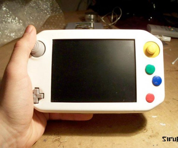 Handheld N64 is Awesome, Non-Ergonomic