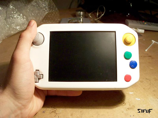 diy custom portable handheld n64 nintendo sixtyfree lite-r