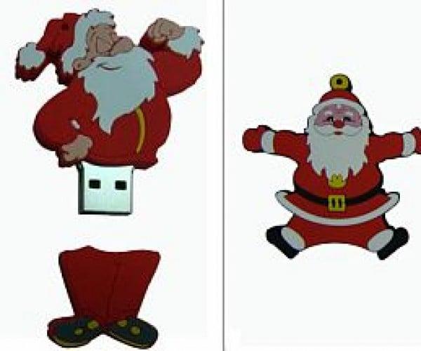 Santa Flash Disk Ho-Ho-Holds Your Data