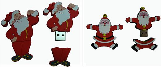 Santa Claus USB Flash Drives