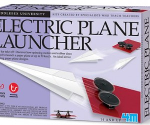 Electric Paper Plane Launcher: Why?