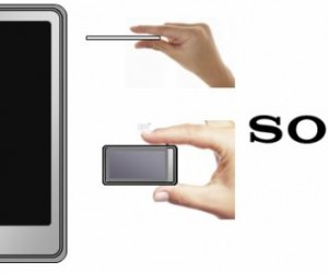 Sony Touchscreen Walkman [Rumor]