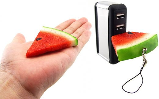 watermelon usb flash memory