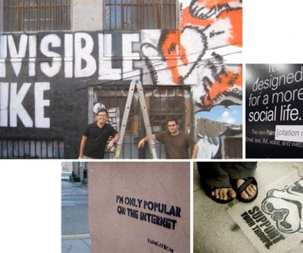 Geek Graffiti Hits the Streets